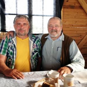 Коробов Павел и Зепп Хольцер в Краметерхоффе