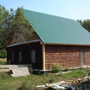 Так постепенно старый дом обретает новый вид.