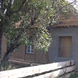 Так начиналась реконструкция обычного срубового дома пятистенка.