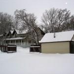 Гостевой дом. Баня справа