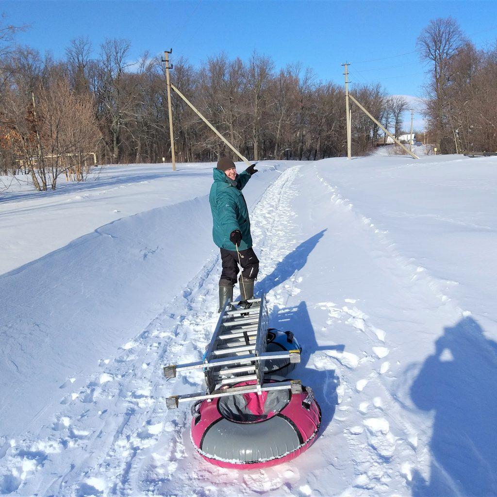 Настоящая зима в Соковнинке